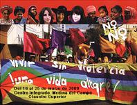Cartel de la Exposición sobre Violencia de Género.