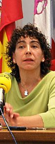 La concejala de Educación y Cultura de Medina del Campo, Silvia Pérez