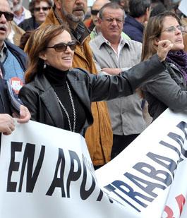 La portavoz de los concejales no adscritos del Ayuntamiento de Medina, Ana Vázquez