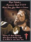Cartel oficial del pregón que tendrá lugar en la Iglesia de Santiago el Real
