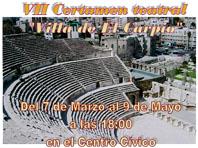 Imagen del cartel oficial del VII Certamen de Teatro 'Villa de El Carpio'