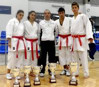 Representación medinense en el Campeonato regional de karate kata y kumite