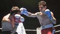 Chuchi Lopez en combate contra Nikolai Zabalotski