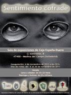 Cartel de la exposición 'Sentimiento cofrade'