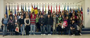 34 alumnos de Tordesillas visitan el Parlamento Europeo en Bruselas