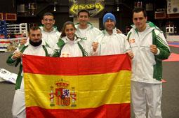 La Selección Española en la Wako Championship