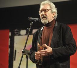 El actor José Sacristán recoge el Roel de Honor de la 26 Semana de Cine