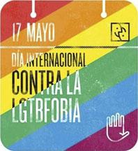 Imagen de una campaña contra la LGTBFobia con motivo del 17 de mayo.