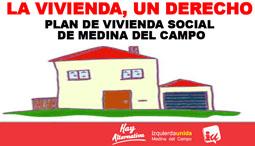 Imagen del informe 'Plan de Vivienda Social' presentado ayer por IU.