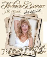 Cartel promocional de Helena Bianco y Los Mismos.