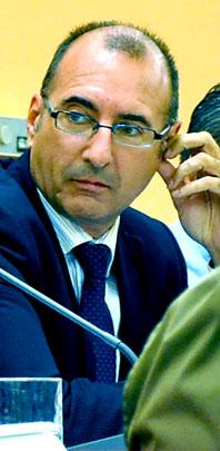 El portavoz del grupo de Gobierno y concejal de Urbanismo, Germán Sáez Crespo.