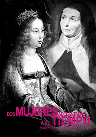 Imagen del díptico 'Dos mujeres adelantadas a su tiempo'.