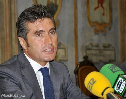 El concejal de Personal, Julián Rodríguez Santiago.