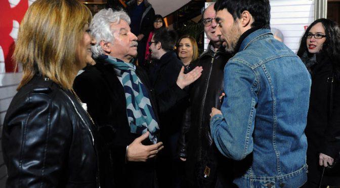 Allende presenta la 'Medinci' en la sede de la SGAE en Madrid