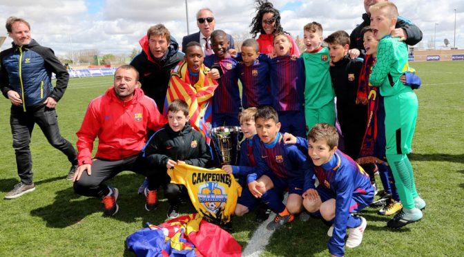 El FC Barcelona, rey de la Iscarcup 2018 en Medina