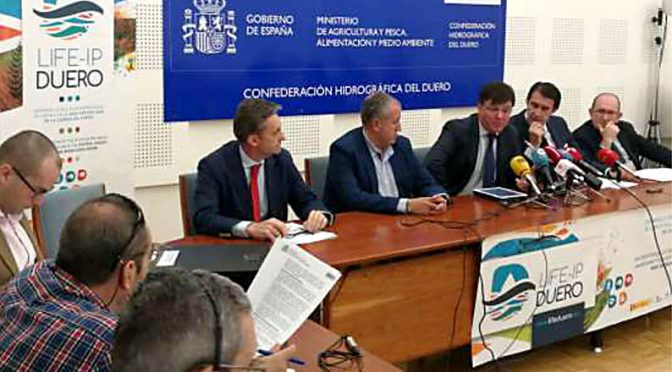 El proyecto europeo LIFE DUERO recuperará el acuífero de Medina del Campo