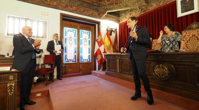 Conrado Íscar, presidente de la Diputación de Valladolid