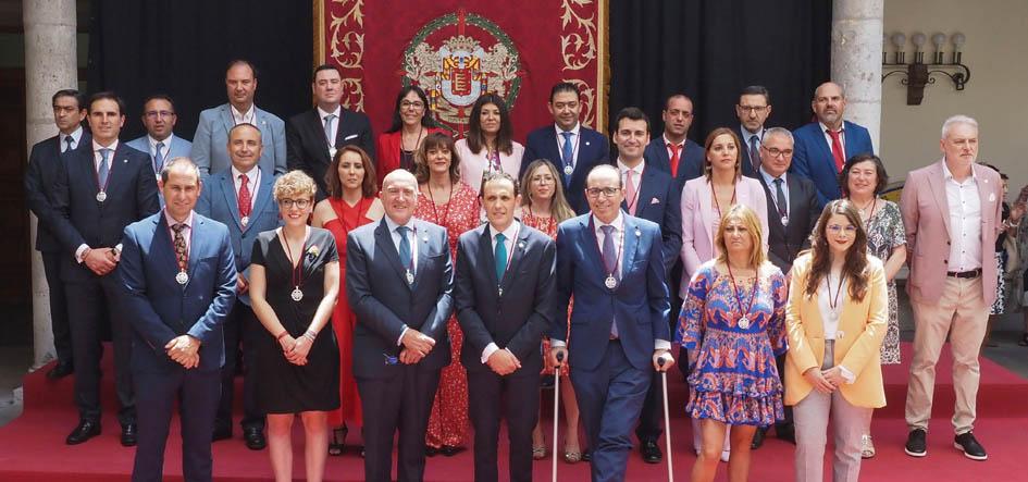 Diputados provinciales de la nueva Corporación
