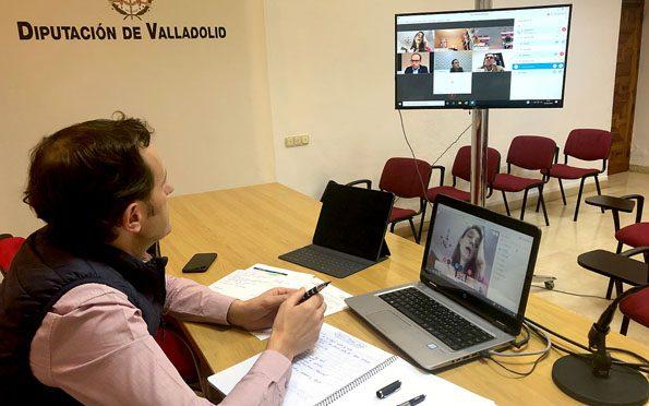 La Diputación de Valladolid reúne a la Mesa del Diálogo Social de la provincia