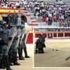 Despliegue de la Guardia Civil ante un millar de escolares de la comarca de Íscar
