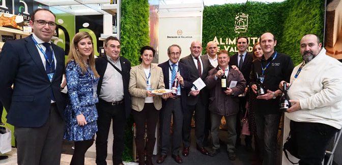 La Diputación promociona la marca 'Alimentos de Valladolid' en Madrid Fusión