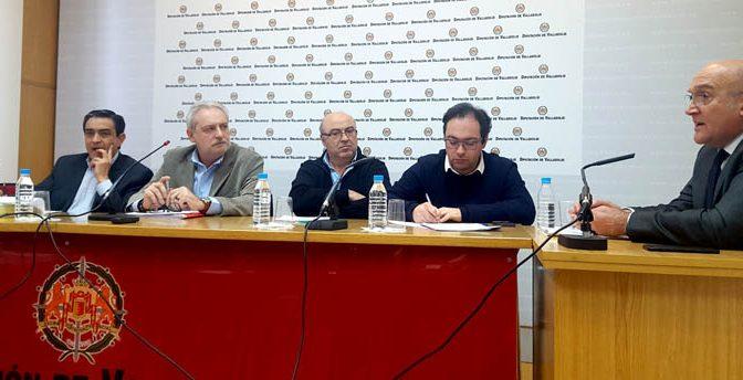 Carnero llama a los grupos de la Diputación de Valladolid a impulsar juntos Meseta Sport