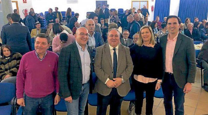 El PP arropa a Guzmán Gómez en su jornada sobre municipalismo en Medina del Campo